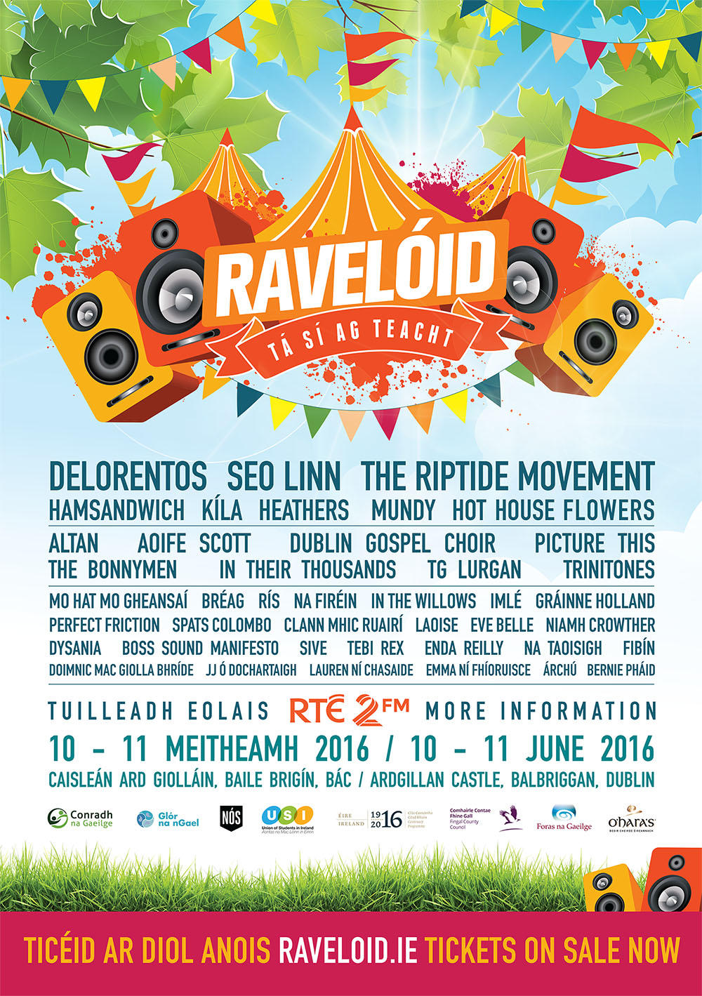 Raveloid Line UP