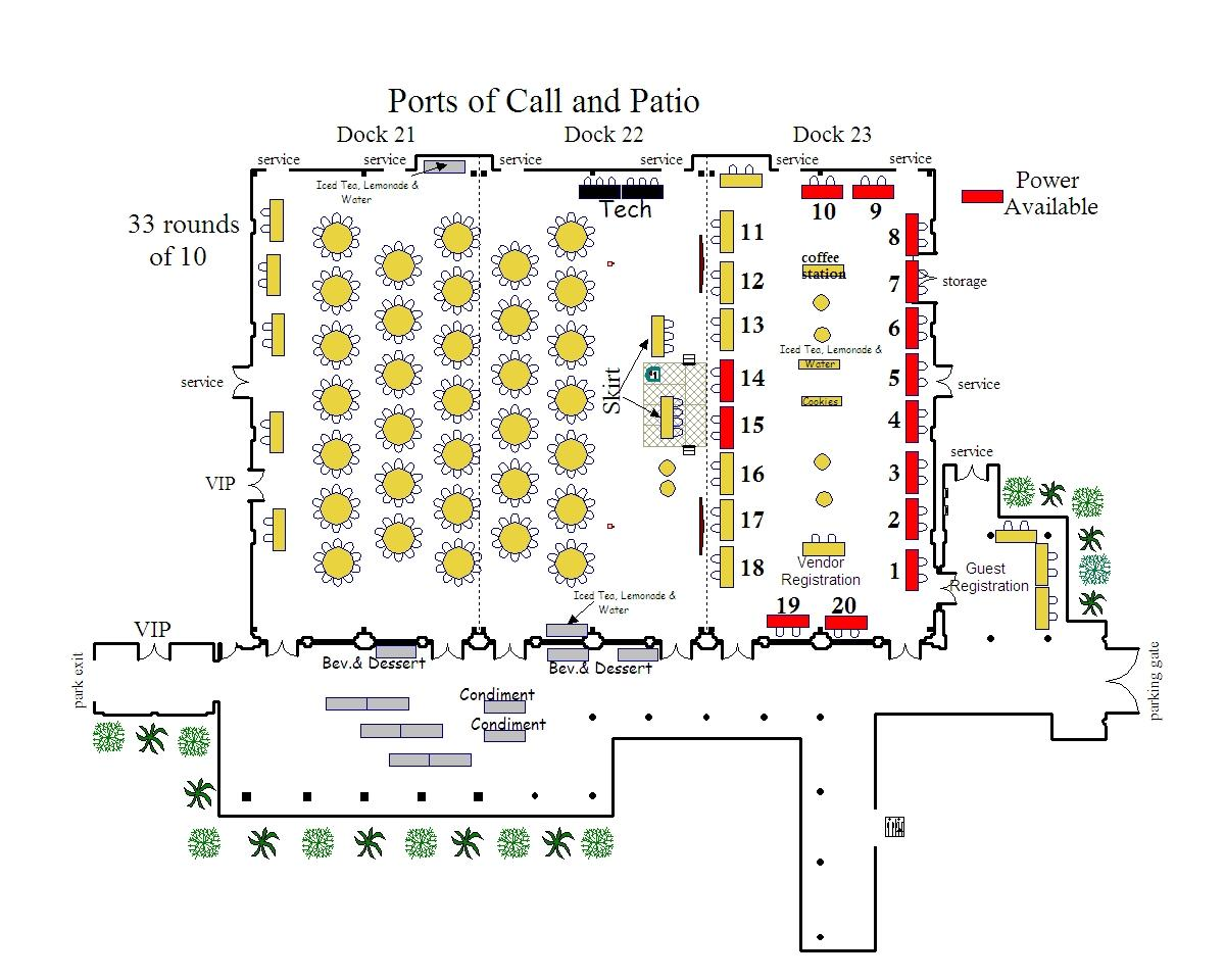 E2Day Exhibitor Floor Plan