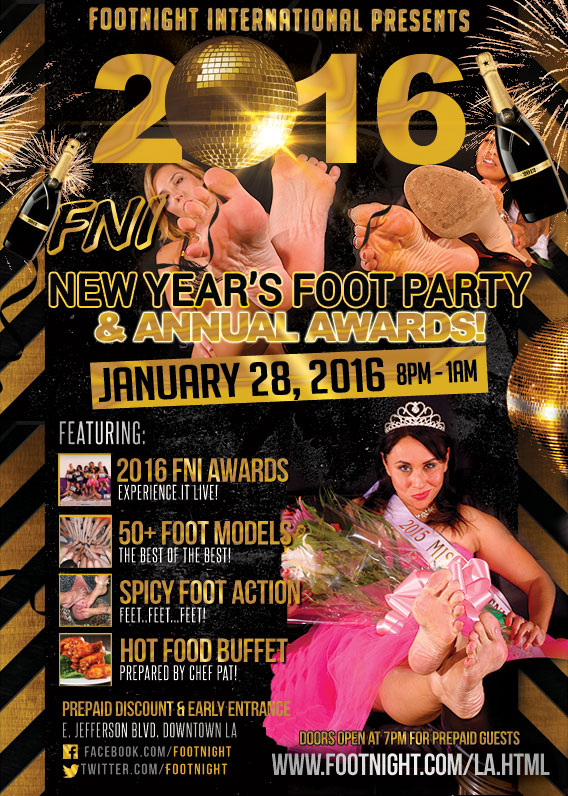 2016 FNI New Year's Footparty & Awards