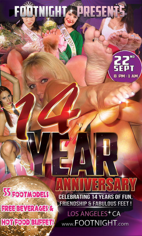 Footnight 14th Year Anniversary Foot Party