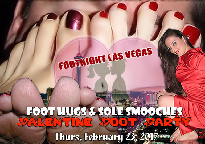 Footnight Las Vegas Valentine's Foot Party