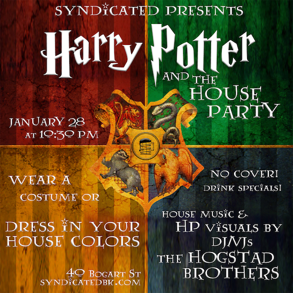 Harry Potter Dance Party Poster at SyndicatedBK