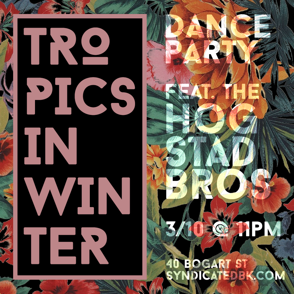 Tropical Heat Dance Party at Syndicatedbk