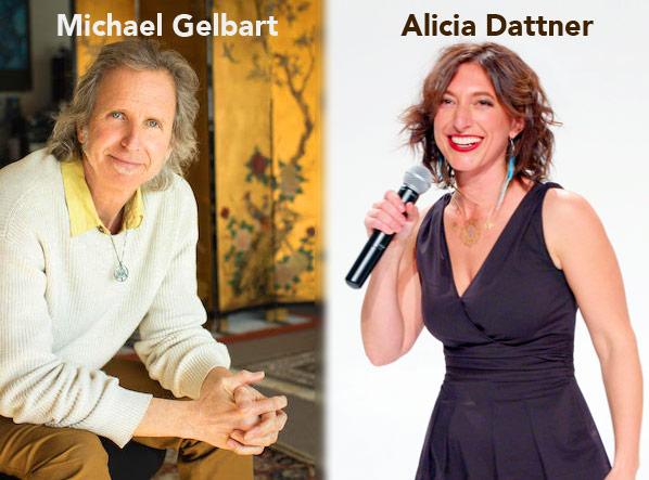 Teachers Michael Gelbart and Alicia Dattner