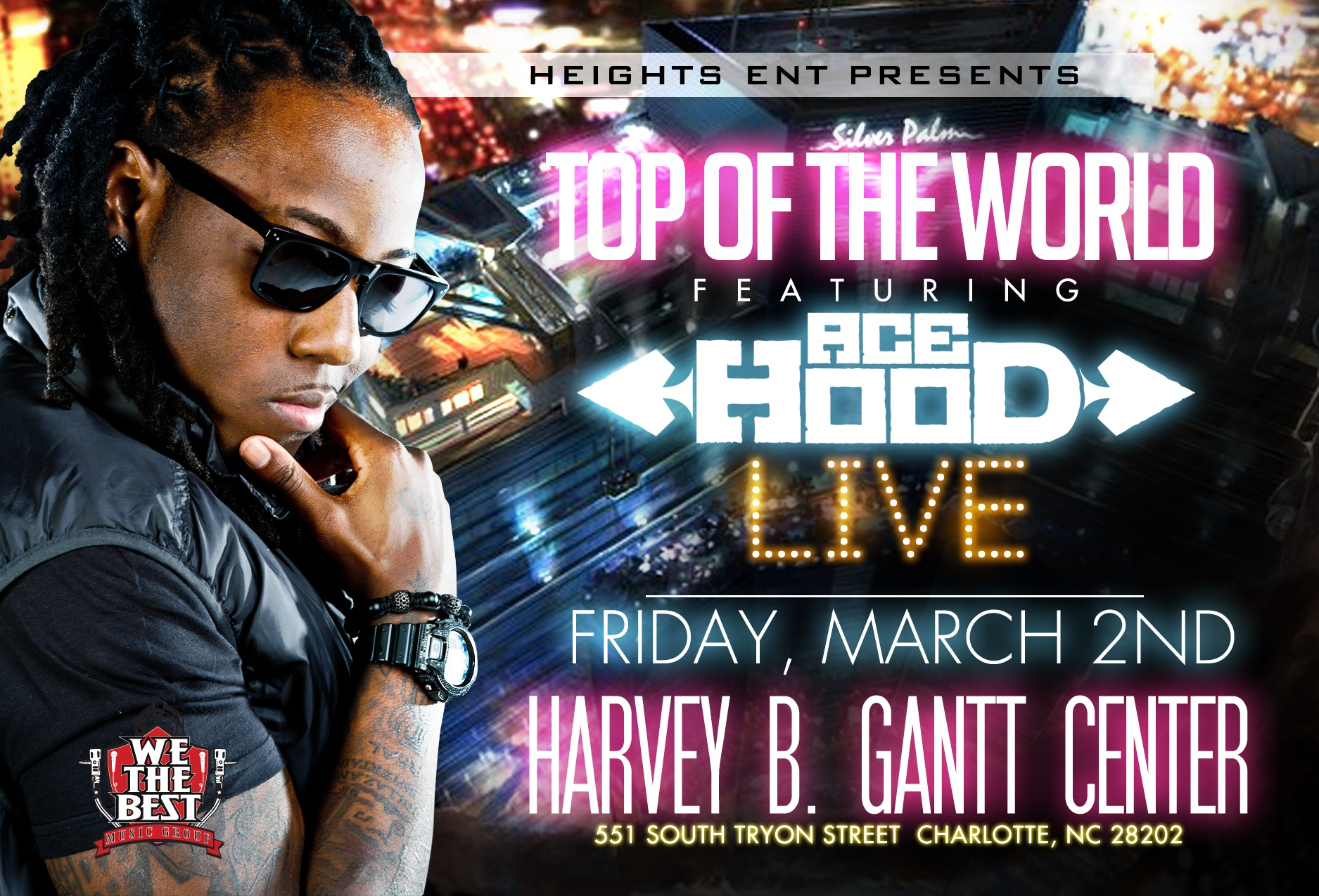 Ace Hood Live CIAA Friday Nite