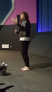 Rebecca Sawyer at our last mediumship night