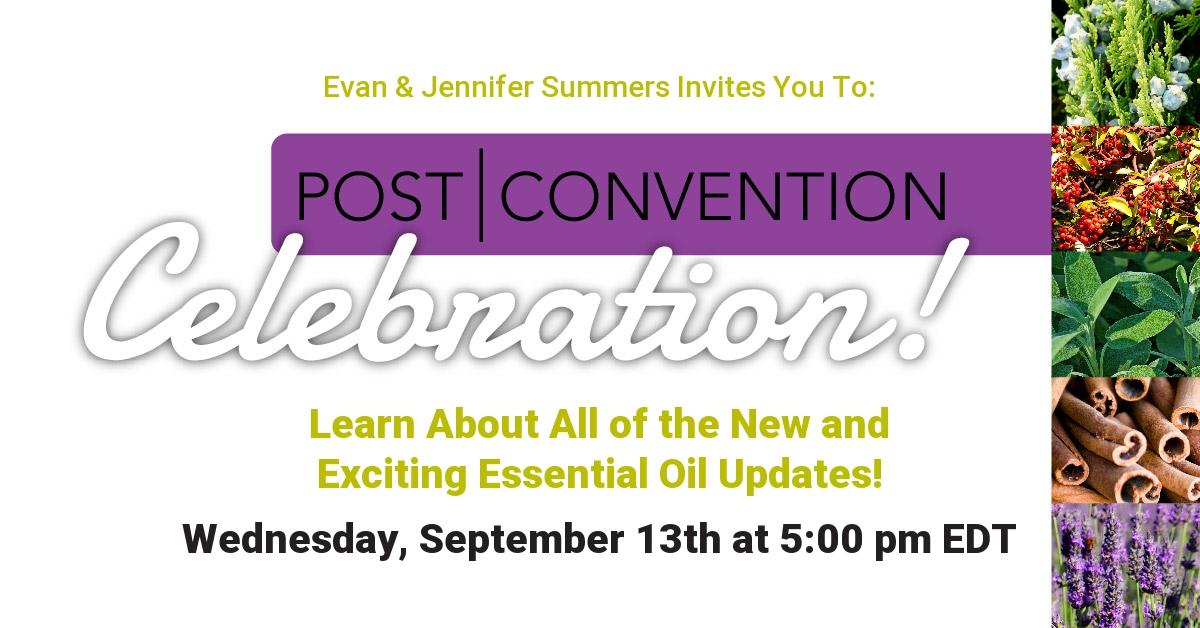 doTERRA Essential Oils Convention Recap New Product Sample Event