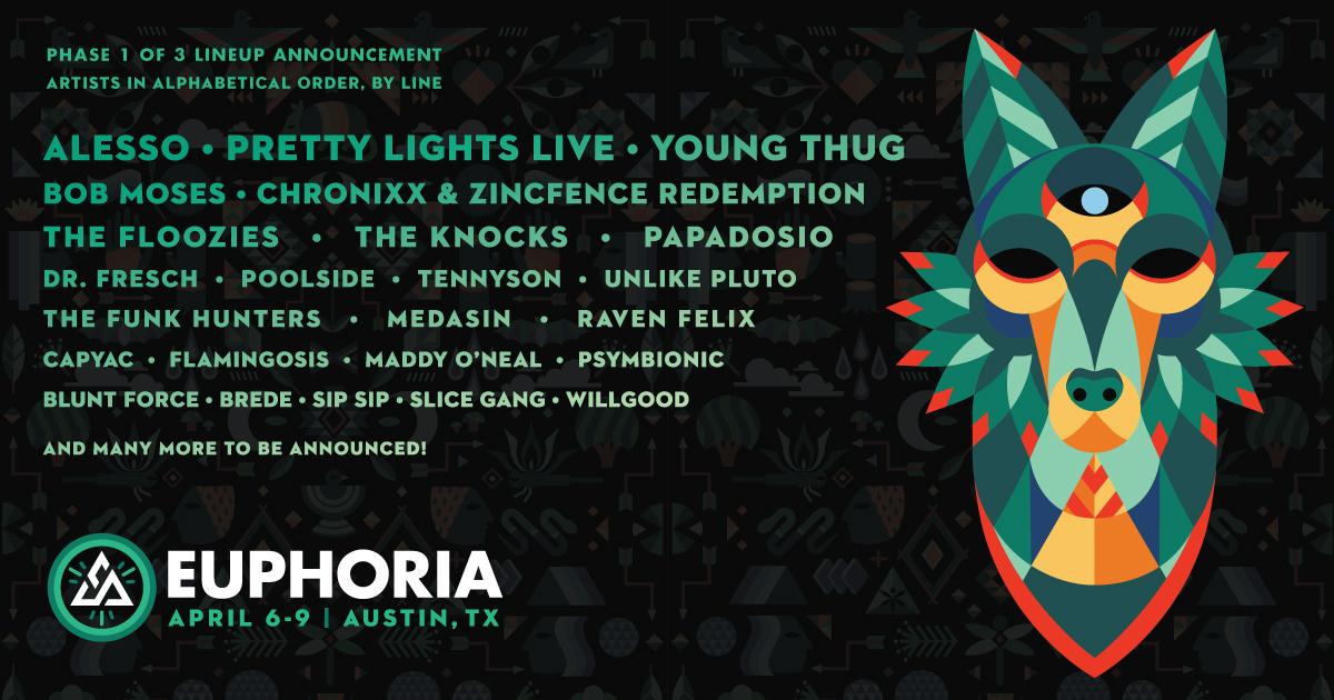 Euphoria 2017 Phase 1 Lineup