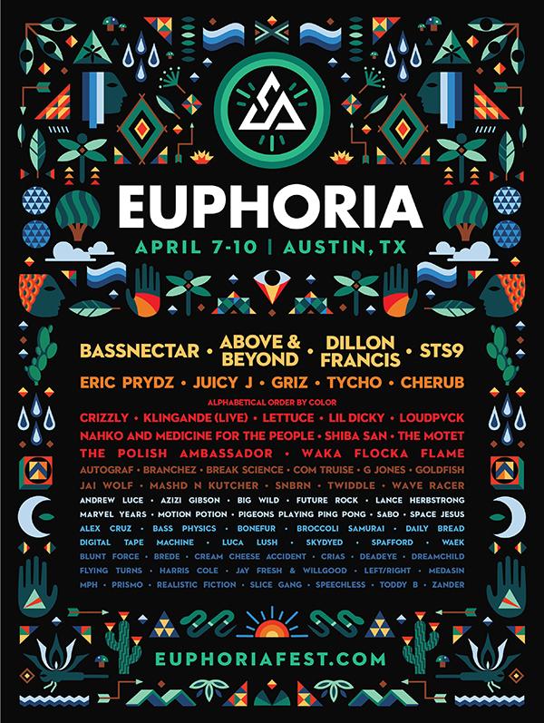 Euphoria 2016 Full Lineup