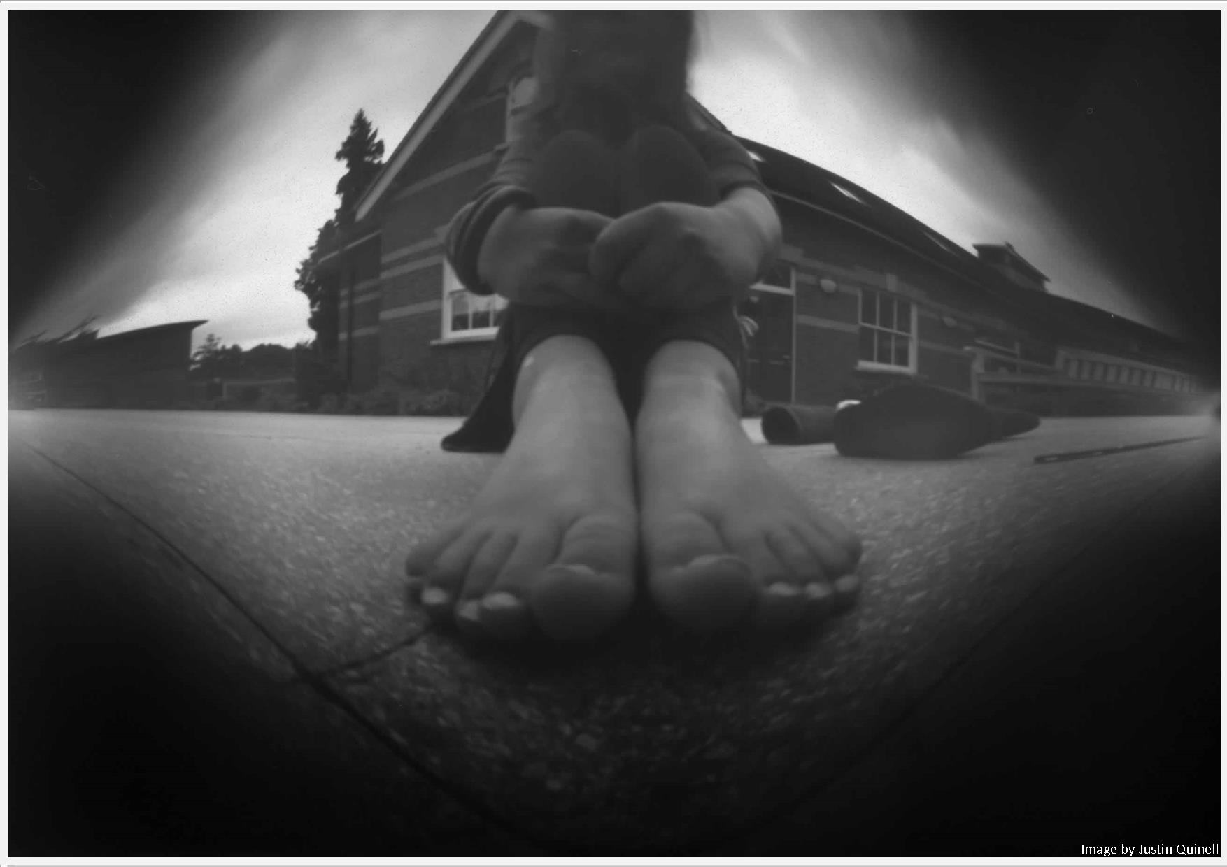 Example of pinhole photograph.