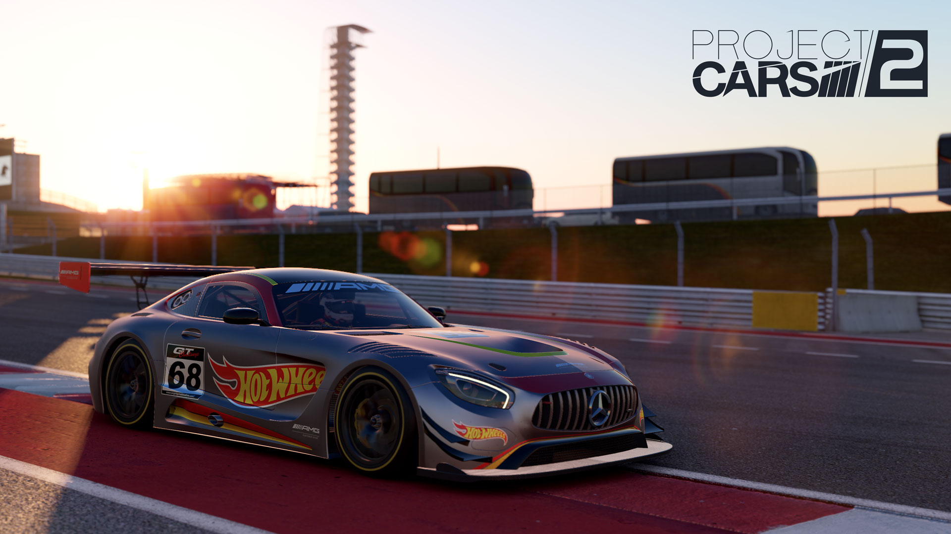 Mercedes-AMG GT3 in Project CARS 2