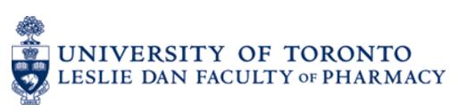 Logo for the Leslie Dan Faculty of Pharmacy