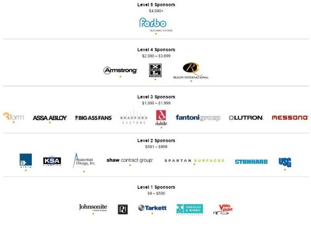 EAW 2015 Event Sponsors