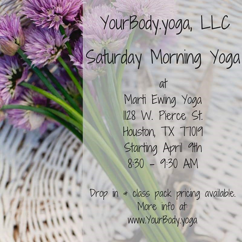 Saturday Morning Plus Size Yoga!