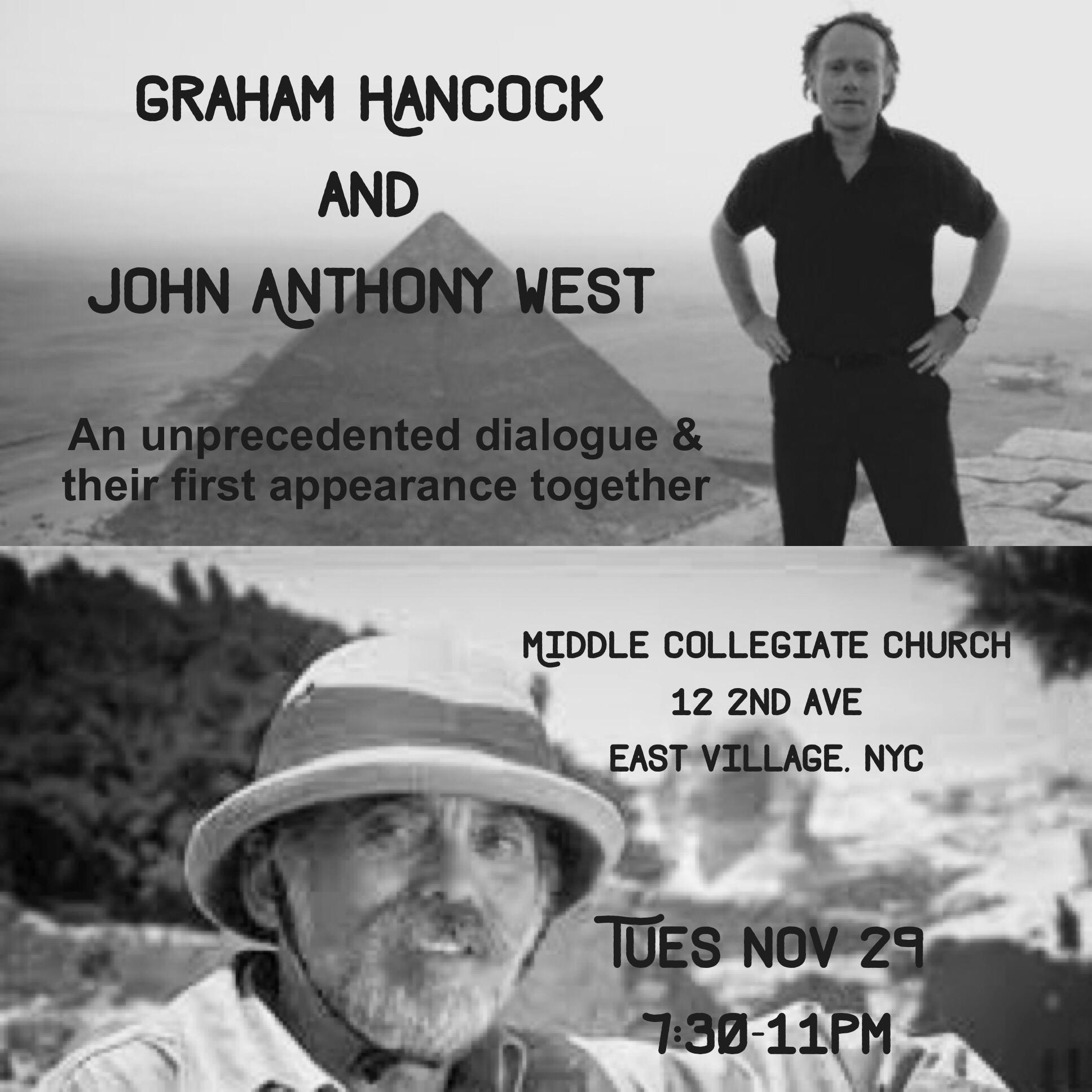 Graham Hancock & John Anthony West
