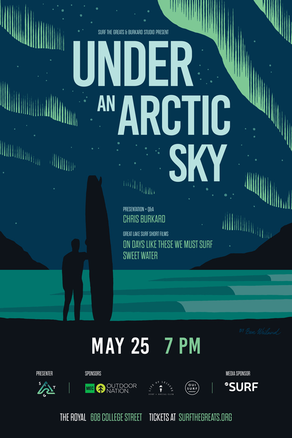 Chris Burkard Under An Arctic Sky Toronto Surf the Greats