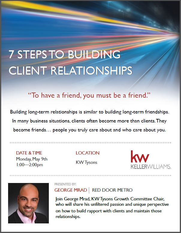 7 Steps To Building Client Relationships With Red Door