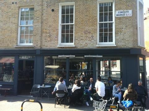 Briki - i-genius Cafe London