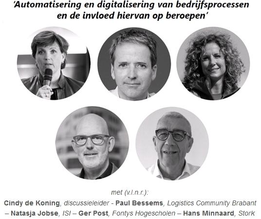 Panelsessie 'Automatisering en digitalisering'
