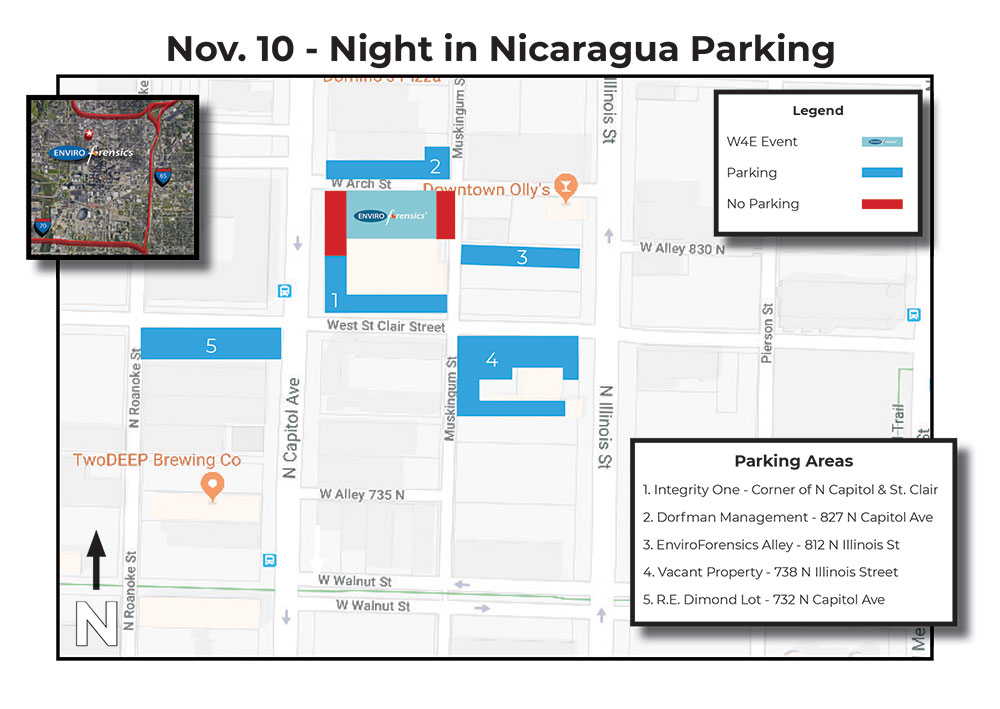 Parking Map - Nov. 10