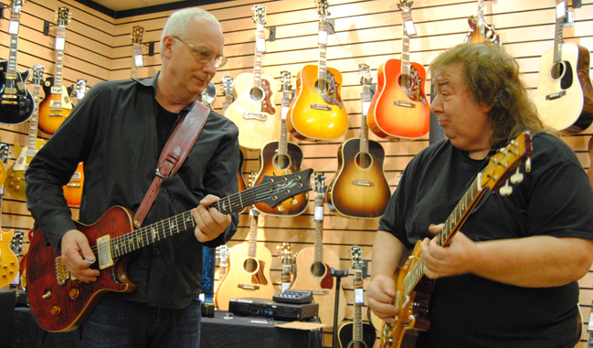 PRS and Bernie Marsden