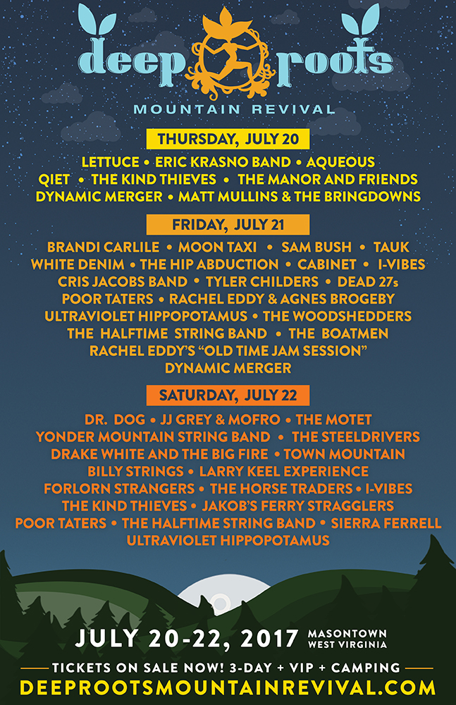 Deep Roots Mountain Revival 2017 Lineup