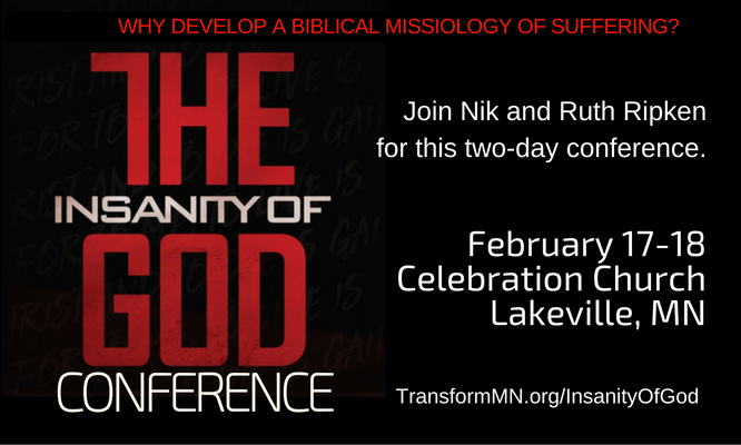 Insanity of God Conference