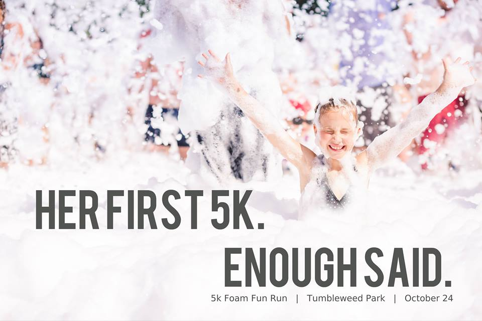 Her 1st 5k!