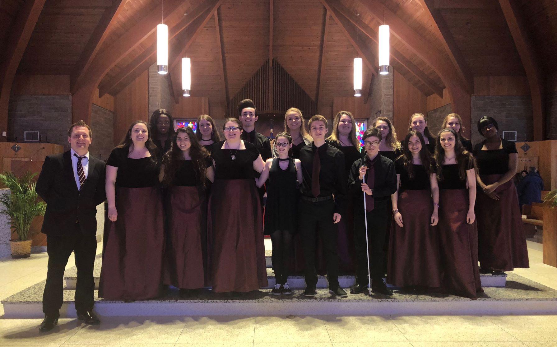 Archbishop Carroll Honors Choir