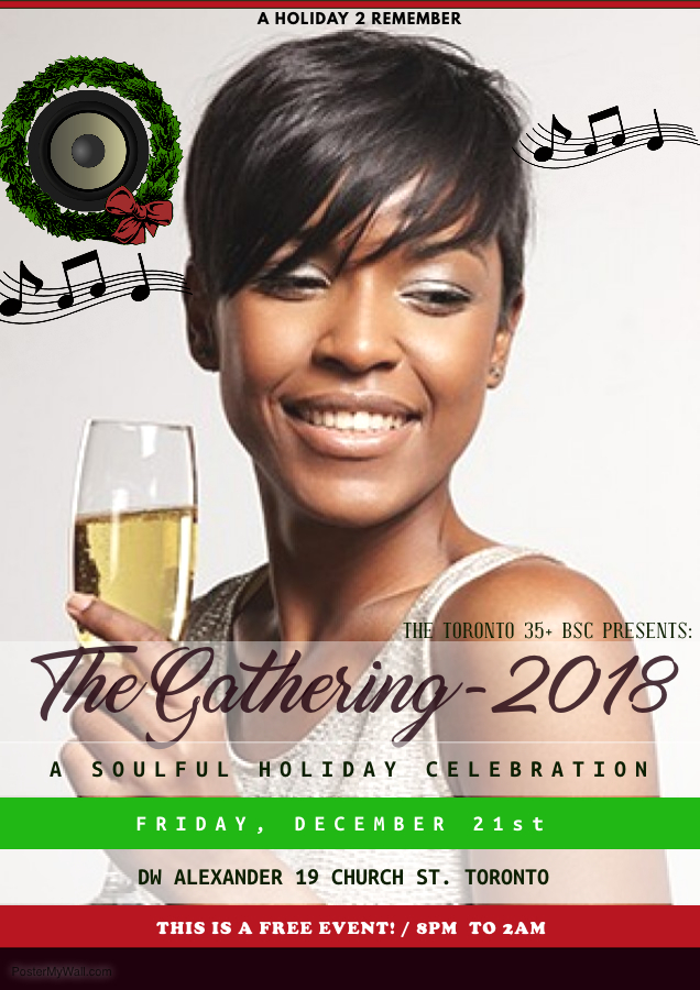 Holiday Social Flyer