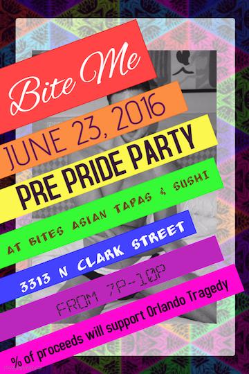 Pride BITE ME Party