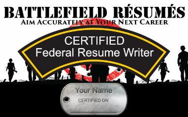 CERTIFIED Federal USAJOBS Rsum Writer 3Day Course
