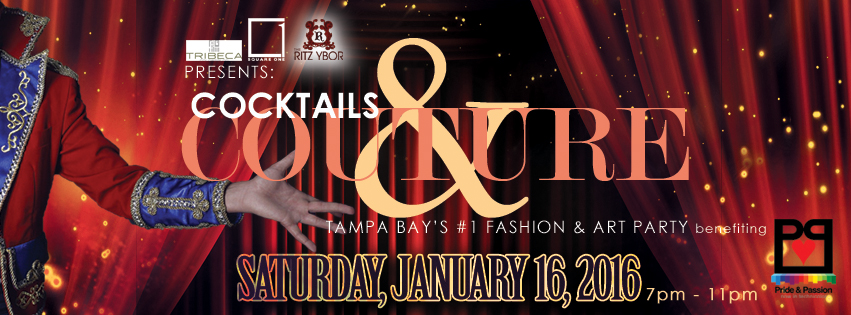 Cocktails & Couture on January 16, 2016