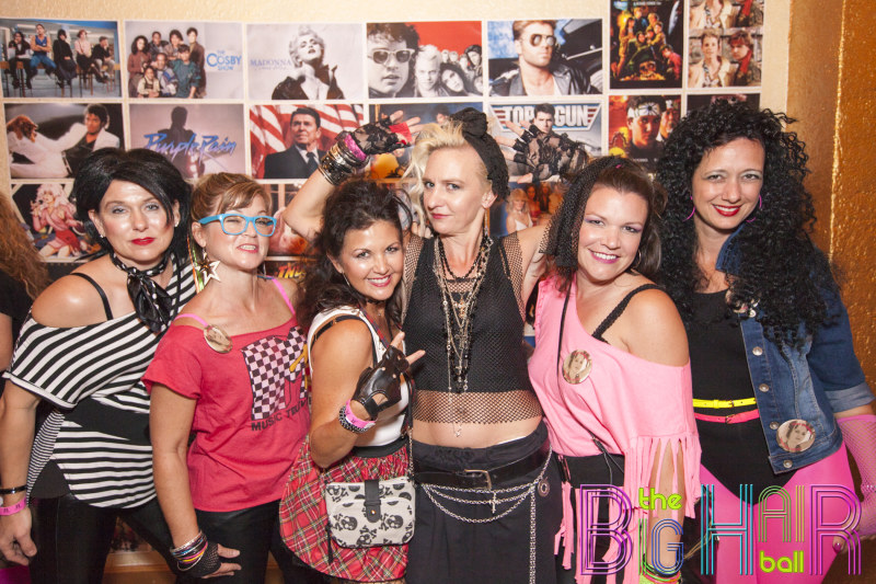 The Big Hair Ball 80s Party