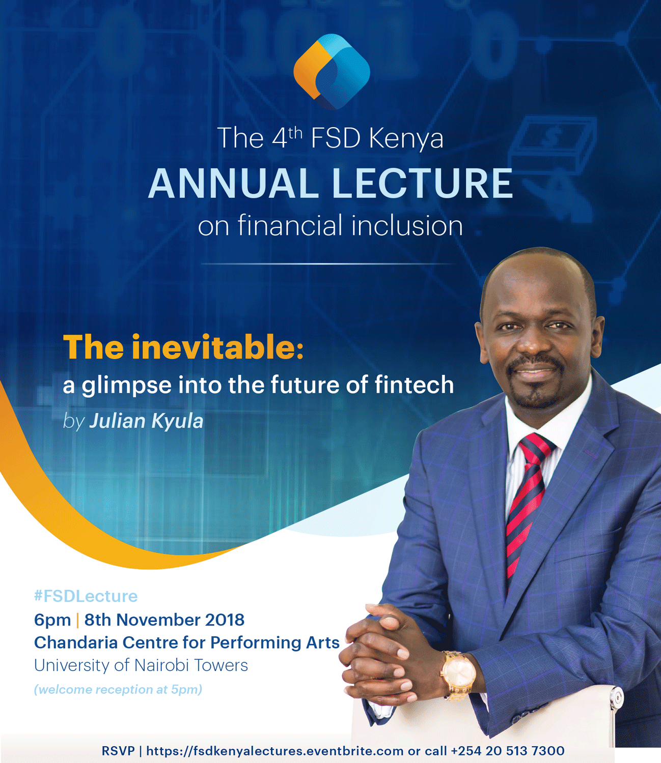 4th FSD Kenya annual lecture invite