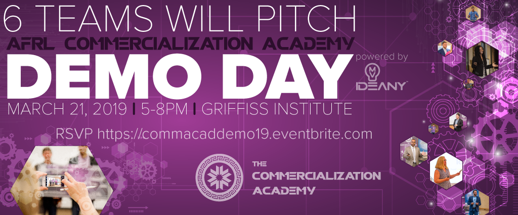 6 teams will pitch at demo day!
