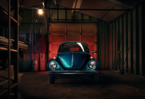 VW Bug by Adrien Veczan