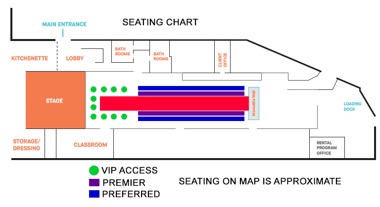 Seating Map for Tickets