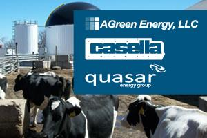 Grand Opening! AGreen's Anaerobic Digester at Jordan Dairy...