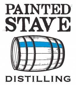 painted stave