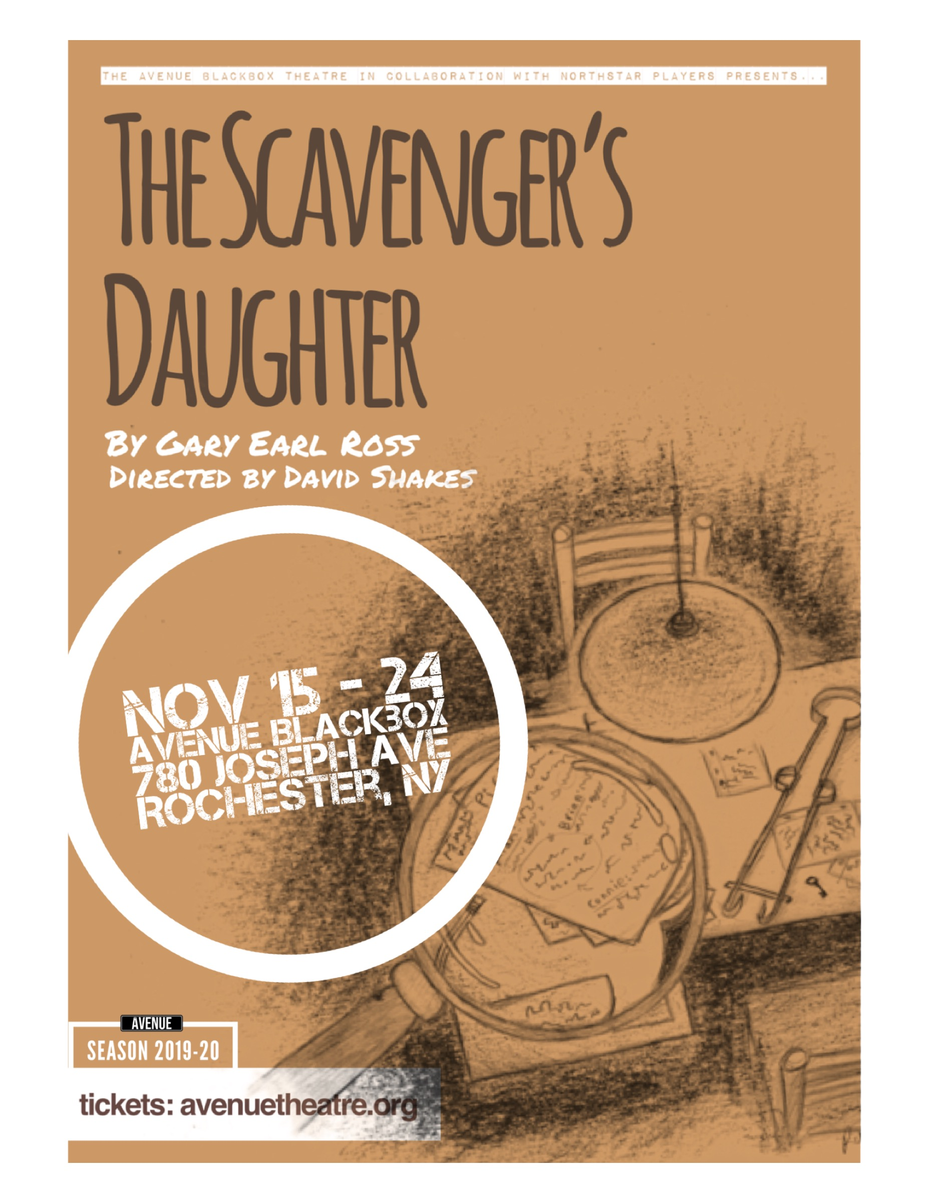 Scavengers Daughter Poster