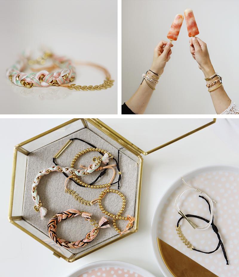 made social - bracelets