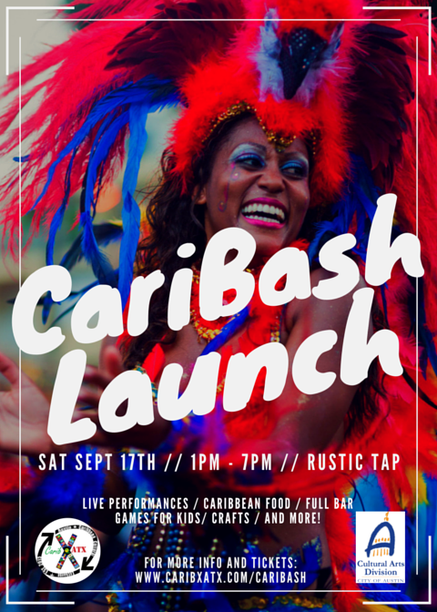 CariBash Launch Flyer