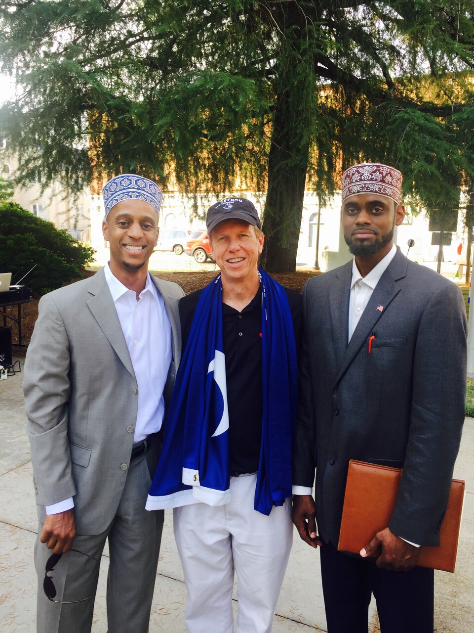 TMOA peace rally in SC with Muslims and Christians united