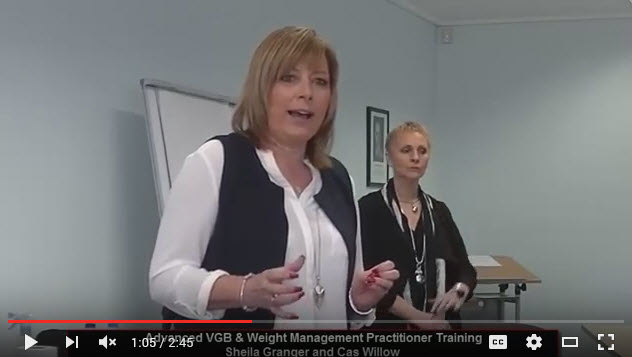 Sheila Granger and Cas Willow Advanced VGB and Weight Management Training