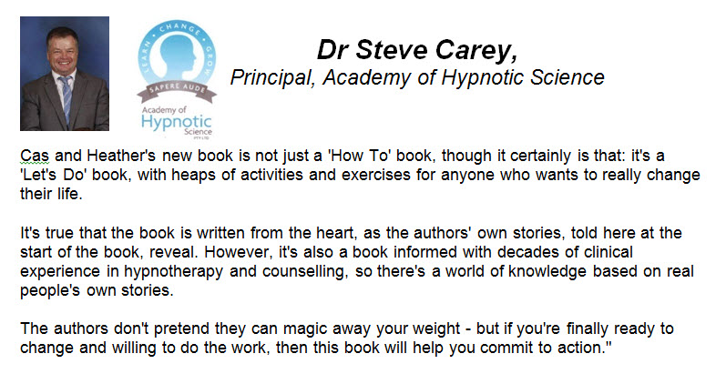 Dr Steve Carey, Principal, Academy of Hypnotic Science