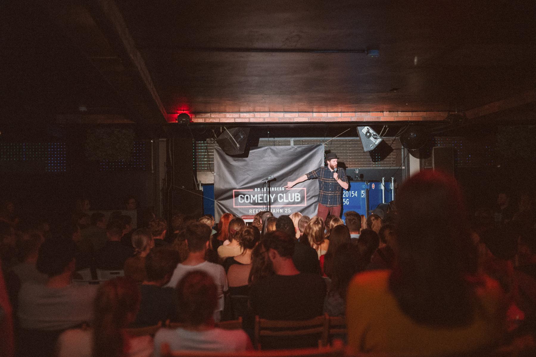 Reeperbahn Comedy Club Bo Lüdersen
