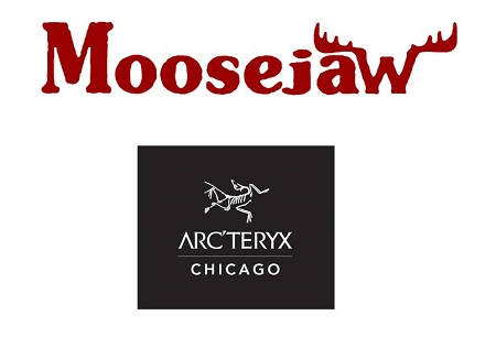 Moosejaw and Arc'teryx logos