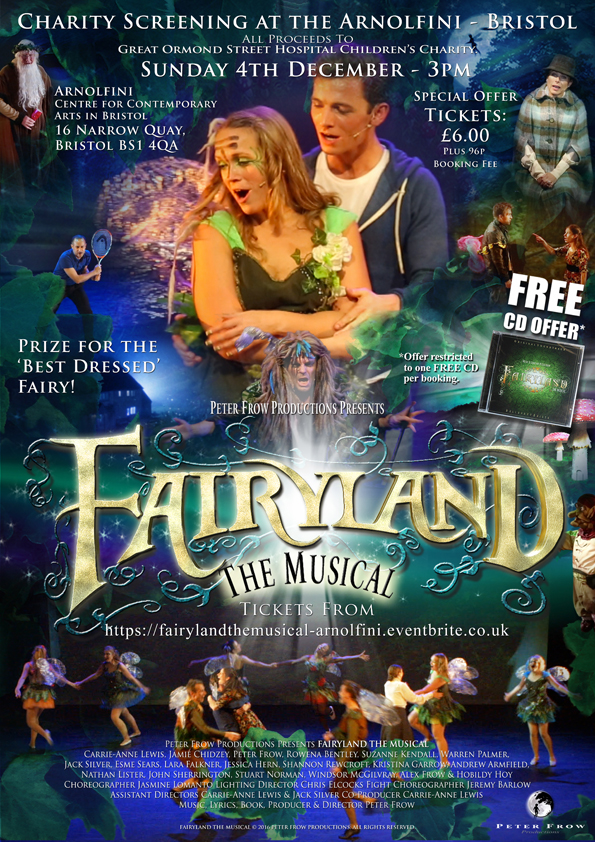 FAIRYLAND THE MUSICAL ARNOLFINI POSTER