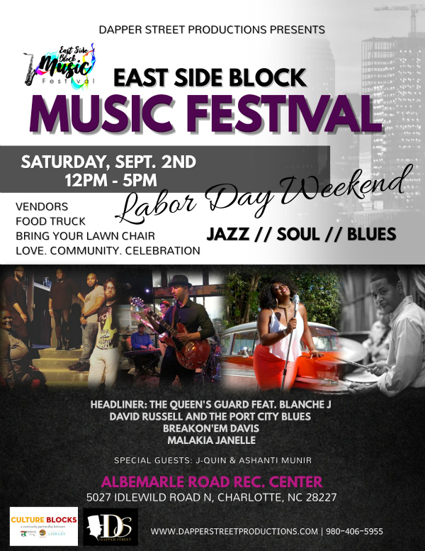 East Side Block Music Festival Flyer